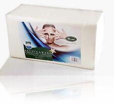 Ro.ial asciugamano monouso in carta bianco cm 40 x 70 in confezione da 60 pezzi