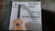 "Toyohiko Satoh,""The Art of Spanish Variations"" CD"