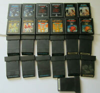 Lot of 25 Atari 2600 Games TESTED Asteroids Defender Tron Deadly Discs AT1