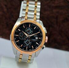Tissot 1853 Chronograph Date on 3 Two Tone 100 M WR Quartz Men's Wrist Watch