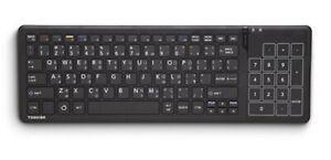 Multi Language Toshiba Wireless Touchpad Keyboard Smart TV Model U50G New