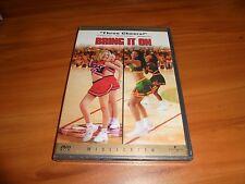 Bring It On (DVD, 2001 Widescreen)  Kirsten Dunst,Jesse Bradford NEW Cheerleader