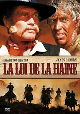 La Loi de la haine (Charlton Heston, James Coburn) DVD NEUF SOUS BLISTER