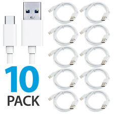 10x OEM Original Samsung Galaxy S8 S8 Plus Note 8 Fast Charger USB Type-C Cables