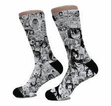 Anime Ahegao Funny Japanese Hentai porn Wibu otaku Men Womens Socks