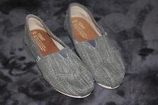 TOMS CHEVRON SEASONAL CLASSIC SLIP Flannel Grey