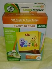 LEAP FROG LEAP READER JUNIOR GET READY TO READ SERIES EARLY VOCABULARY AGES 2-3