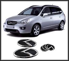 Front Hood/Trunk/Steering Horn K Logo Emblem 6p for KIA New Carens;Rondo 06~12