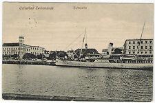 Ship in Swinemünde/Świnoujście, Poland, 1918, Marine Post