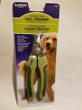 Pet Grooming Dog's Nail Clipper Stainless Steel Rubber Coated Handles Safari