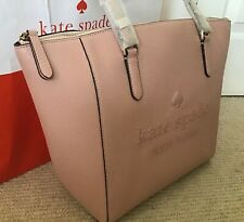 Kate Spade Large Leather Tote, Rosycheeks, BRAND NEW