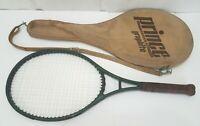 Prince Graphite Series 110 Vintage Oversize Tennis Racket & Cover - 4-3/8 Grip