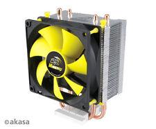 Akasa Venom Pico cpu cooler INTEL Core 2Duo, core 2 quad, Core i3, Core i5 AMD et