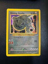 Shining Steelix 112/105 Holo Secret Rare Foil | Neo Destiny Pokemon TCG | HP
