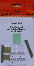 Quickboost 1/48 F-14 Tomcat Air Intake Covers # 48435
