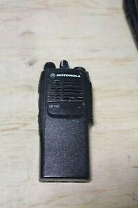 Motorola HT750 VHF 136-174MHz 5W AAH25KDC9AA3AN W/ Battery