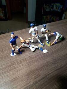1989-90 : 5 Lot - Chicago Cubs Starting Lineups - Sandberg, Dawson, Grace & More