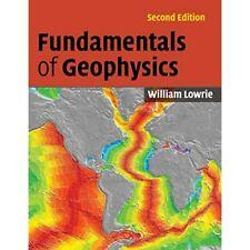 Fundamentals Geophysics 2e William Lowrie Paperback Cambridge Uni… 9780521675963