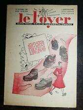 Le Foyer N 3350 19 octobre 1941 mesdames... Mode hiver Pat'apouf