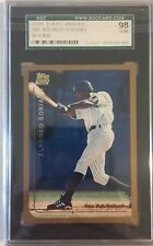 1999 Topps Traded #T65 ALFONSO SORIANO Yankees Rookie SGC 98 Gem Mint = PSA 10