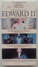 EDWARD II - Derek Jarman VHS - RARE, OUT-OF-PRINT - FREE SHIPPING