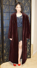 Close out Sale !Brand new without tag, full length Sheared mink coat, reversible