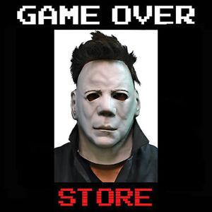 Michael Myers Mask Lattice capo Halloween Movie Adulto Cosplay Costume Italia