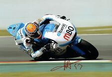 Esteve Tito RABAT Signed Photo 5 AFTAL Autograph COA MOTOGP Former Moto2 Champ