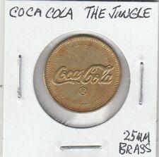 LAM(A) Token - Coca Cola - The Jungle - 25 MM Brass