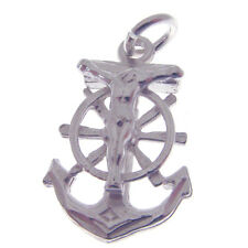 STERLING SILVER FAITH HOPE & CHARITY CHARM.  925 SILVER FAITH HOPE CHARITY CHARM