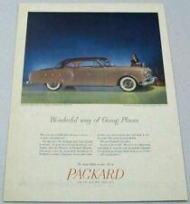 1951 Print Ad '53 Packard Mayfair 2-Door More Than a Car