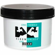 Elbow Grease Cool Cream 9 oz Oil Based Male Men Personal Lubricant Anal Lube
