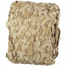 Filet bâche de camouflage renforcé - couleur coyote - plusieurs tailles*