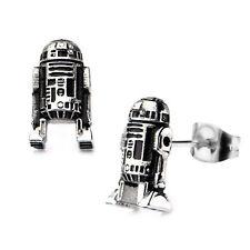 Star Wars R2-D2 3D Cast Stud Earrings