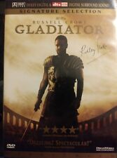 Gladiator - Russell Crowe (Dvd, 2-Disc Set) Signed Copy by Director Ridley Scott
