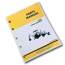 Parts Manual For John Deere 210C Tractor Loader Backhoe Catalog Book Schematic