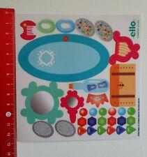 Autocollant/sticker: ello creation système - 2002 Mattel (25061680)
