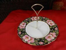 "Beautiful Collection ROYAL ALBERT ""Old Country Rose"" Sandwich Server with Handle"