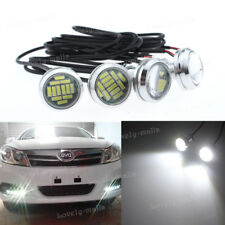 4pcs High Power 6k White 5W LED Eagle Eye Underbody Car DRL Fog Light Motorcycle