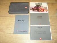 CITROEN SAXO OWNERS MANUAL HANDBOOK PACK   2000 - 2004  FREE UK POSTAGE