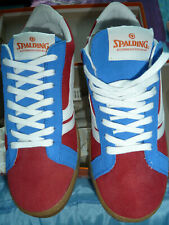 SPALDING New Mens Sneakers Size 40EU/6UK/7US MVP Red/Blue