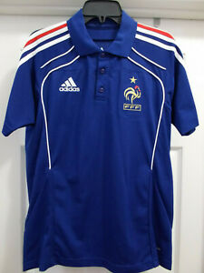FRANCE FRENCH FOOTBALL FEDERATION FFF FIFA WORLD CUP NWOT ADIDAS M SOCCER JERSEY