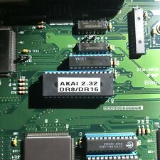 Akai DR16 & DR8 OS 2.32 Update ROM - Upgrade EPROM Dr-8 Dr-16 Plus Update Manual