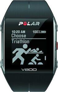 Polar V800 HR GPS-SportsWatch - Schwarz
