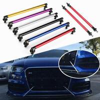 2Pcs Adjustable Car Front Rear Bumper Lip Splitter Rod Strut Tie Support Bar Kit
