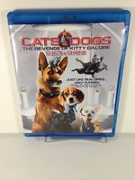 Cats  Dogs: The Revenge of Kitty Galore (Blu-ray/DVD, 2010, 2-Disc Set,)