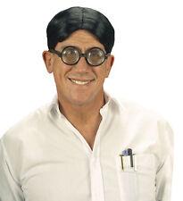 Nerd Perücke für Herren schwarz NEU - Karneval Fasching Perücke Haare