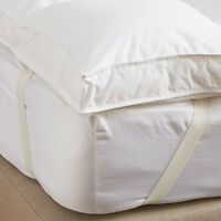 "Luxury 2""&4""Supersoft Heavy Fill Microfibre Mattress Topper All Sizes Available"