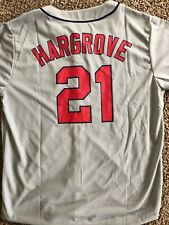 Mike Hargrove Cleveland Indians Gray Away Button Down Size XL Jersey MLB