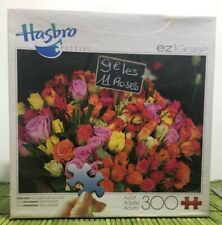 300 piece Jigsaw Puzzle Bouqet of Roses NEW Factory Sealed Hasbro EZ Grasp